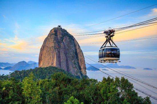 Sugarloaf mountain gondola in Rio
