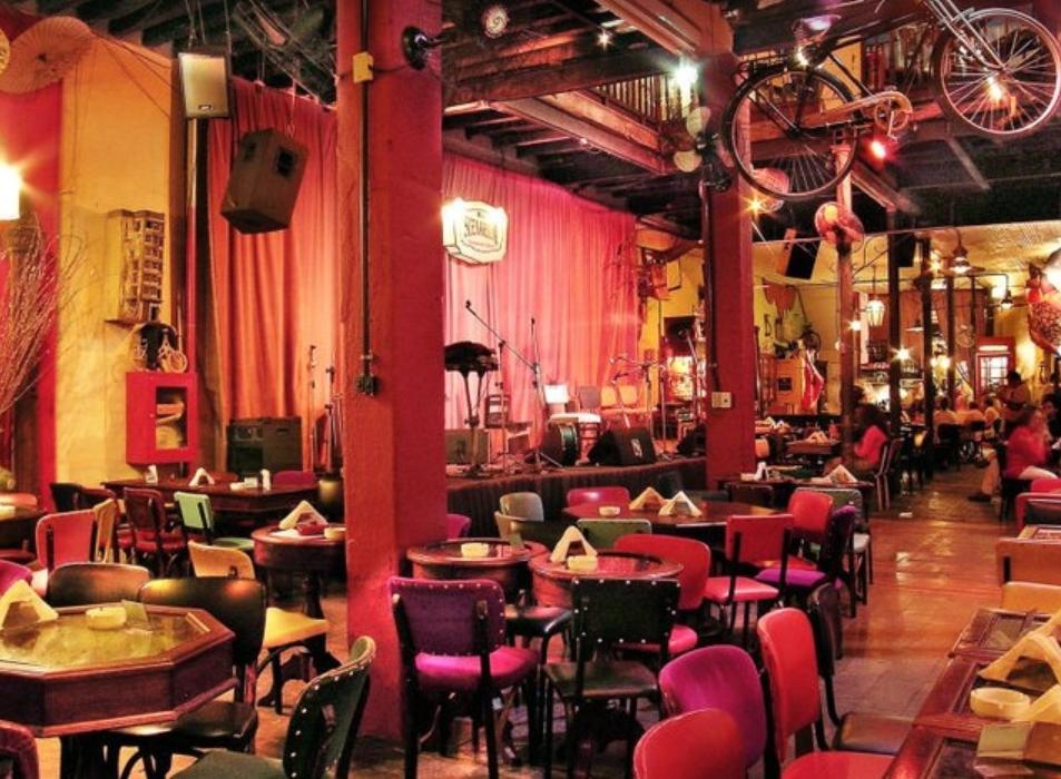One of the best bars in Rio is Rio Scenarium