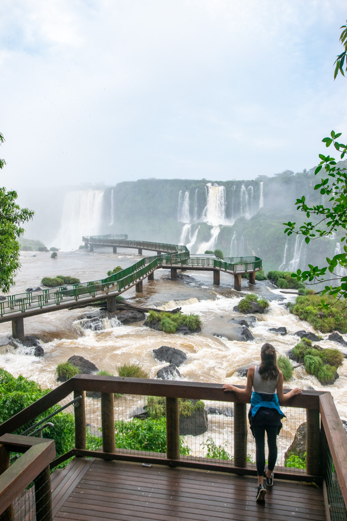 Iguazu Falls Views from Brazil