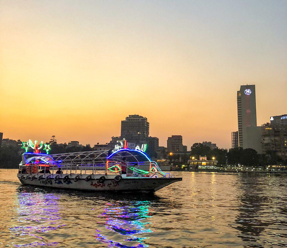 Ride down the Nile