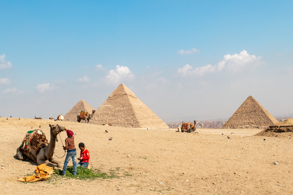 You can't go to Egypt without seeing one of the greatest wonders of the world
