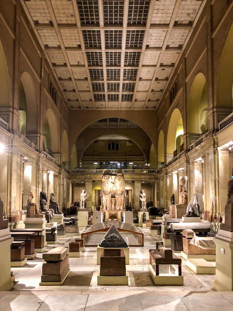 The Egyptian Museum is Cairo is a must do