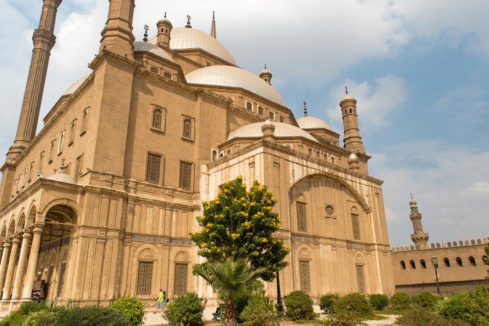 The Mohamed Ali Mosque inside the Salah El-Din Citadel
