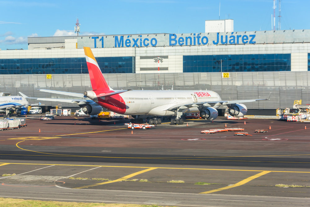 Benito Juárez International Airport - the best airport to use for travel to Mexico City
