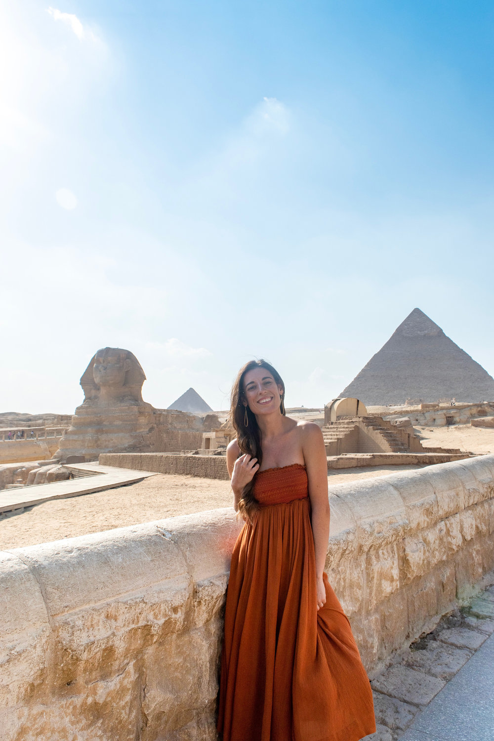 It is hard to go to Egypt and not experience the pyramids up close.