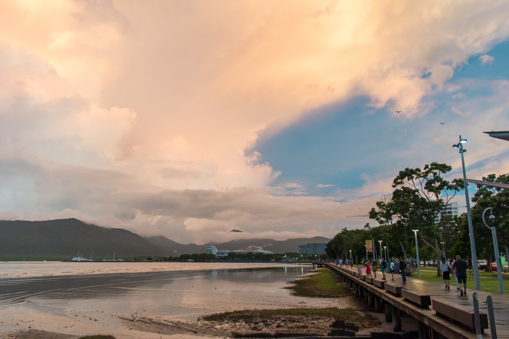Cairns is a gorgeous city in its own right and a great place to explore the Great Barrier Reef from.