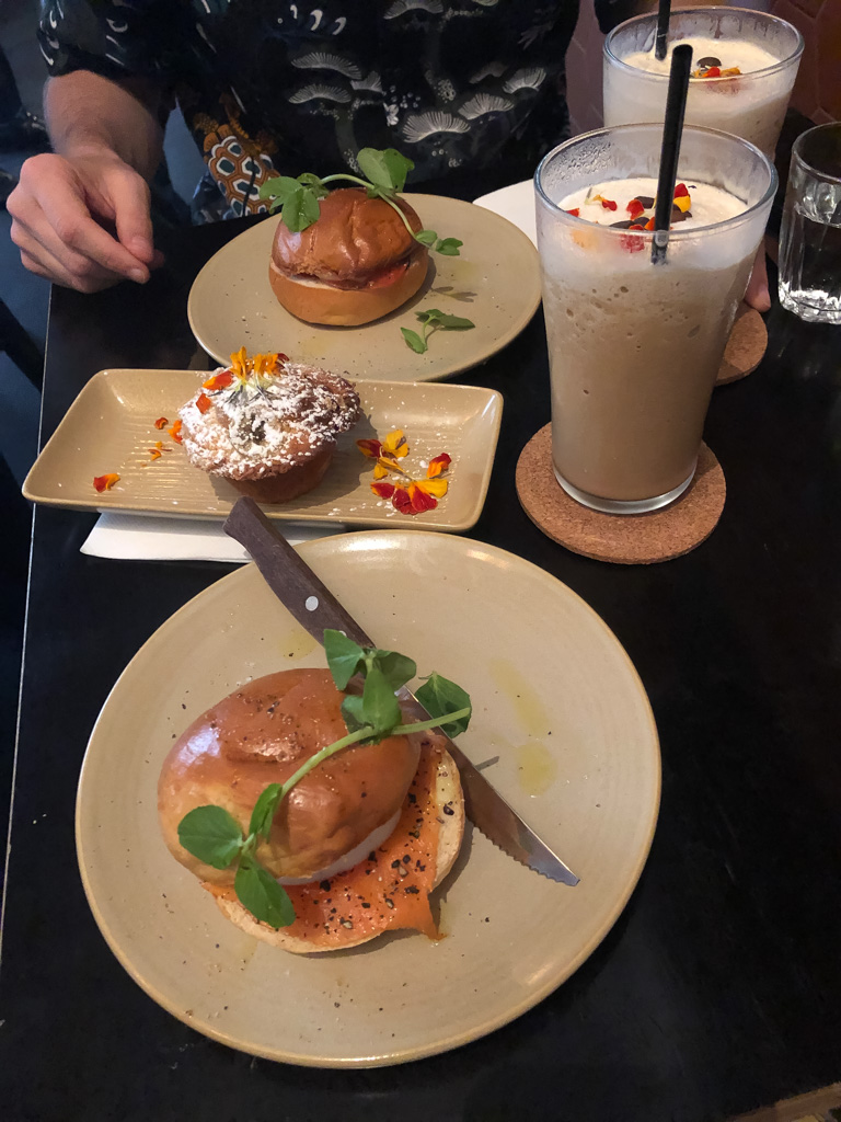 Delicious food and coffee at Marlowe's way, a cafe in Sydney's CBD.