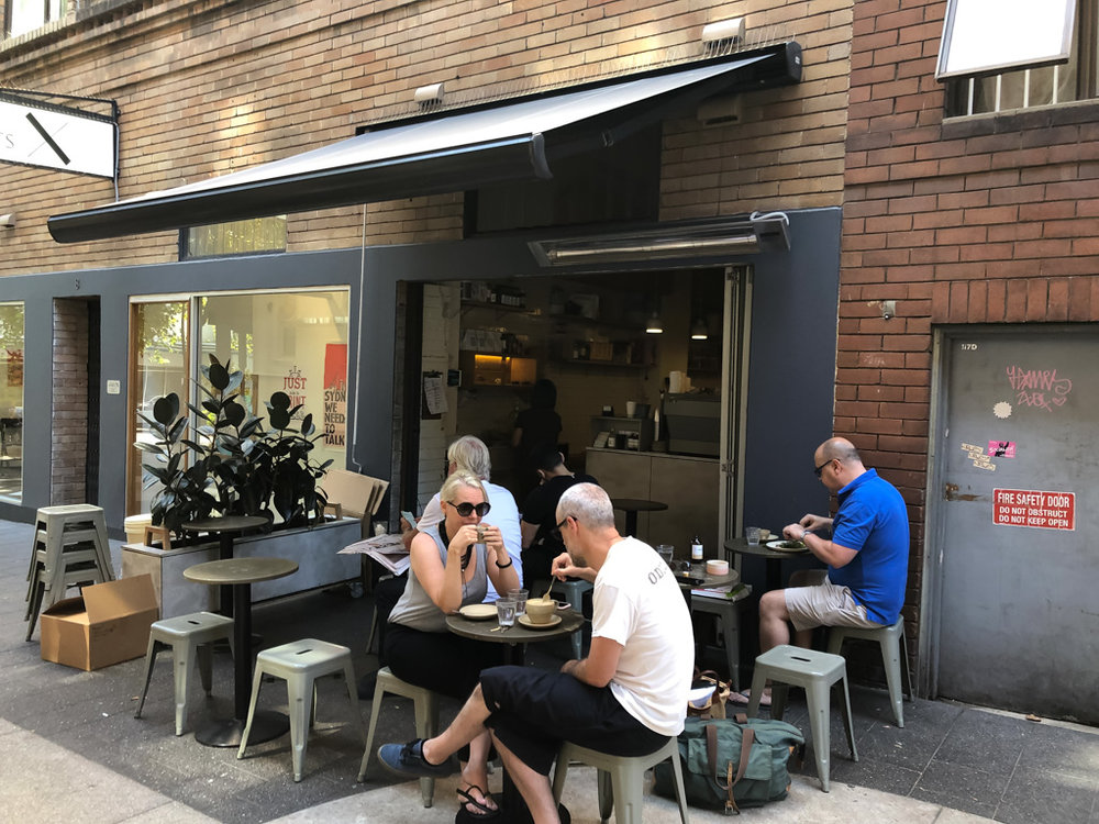 Outdoor Seating at Room Ten