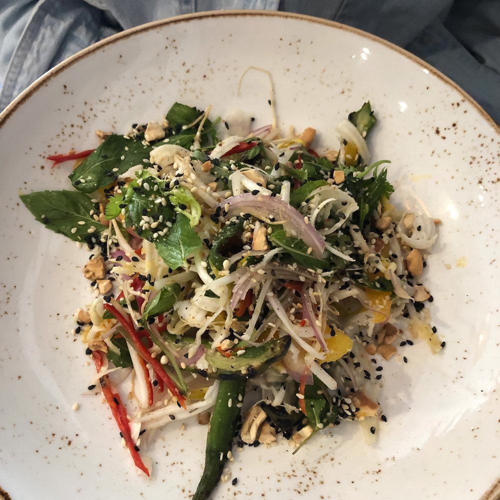Salad at Three Blue Ducks