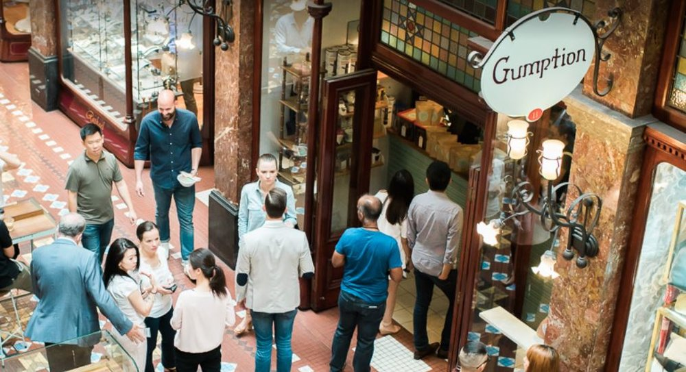 A great coffee shop to check out is Grumption Coffee in The Strand Arcade.