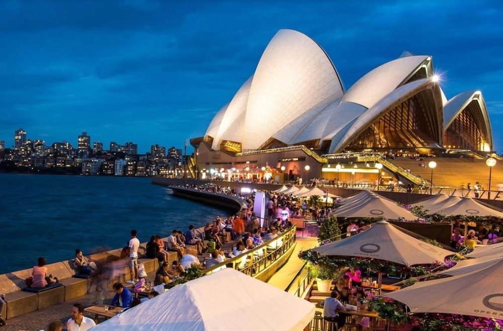 The views are incredible at Opera Bar - but the drinks are pricey.