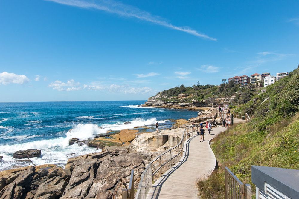 One of the best places to take photos is while doing the Bondi to Coogee Coastal Walk