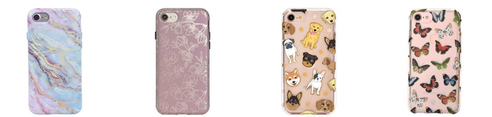 The very best cute and stylish phone cases from Velvet Caviar.