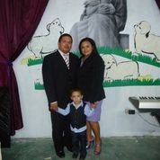 Edwin Avilez and his family