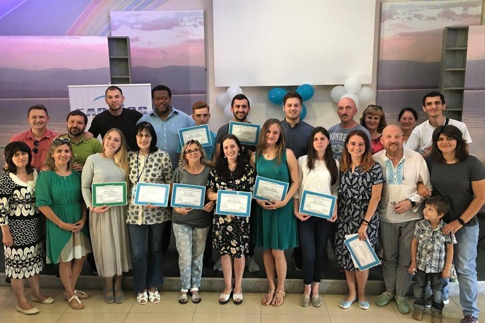 2018 Graduates from Uzhgorod