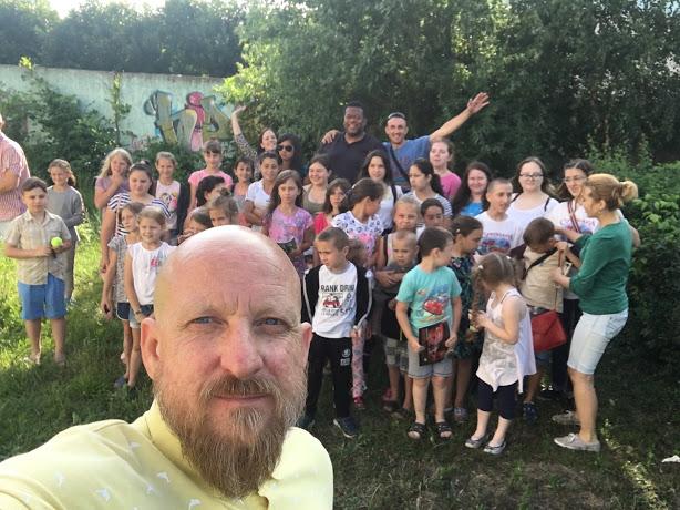 Roma kids camp
