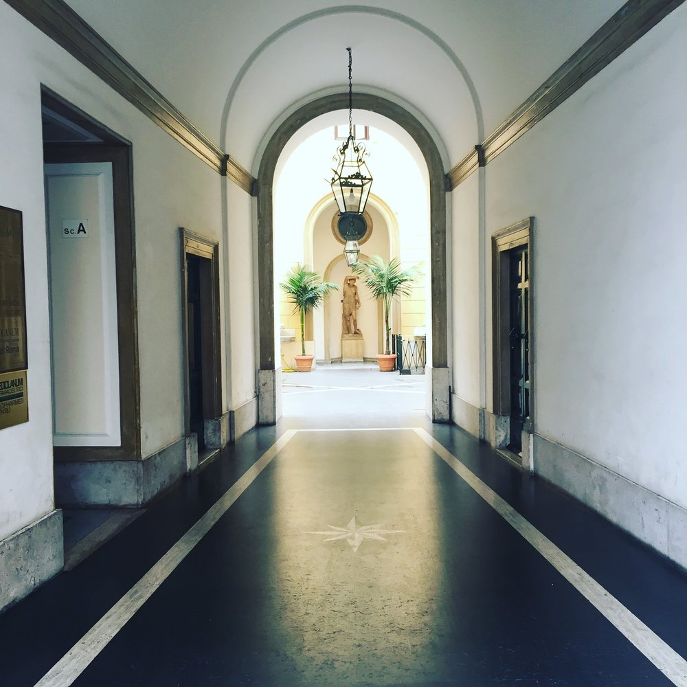 An Archway in the Heart of Rome Photo: Danielle Rehfeld