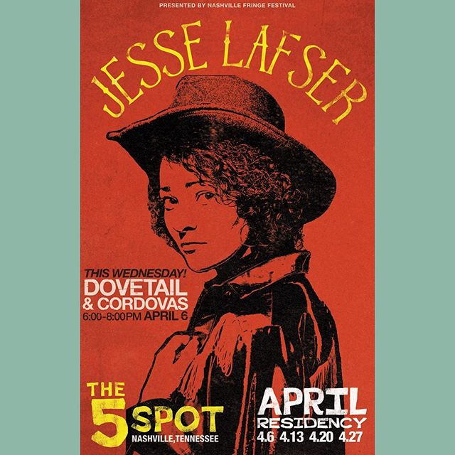 This week on #Nashville, we join @jesselafser & @cordovasband at @the5spotnashville at 6pm. Our last show in town while we focus on finishing the new record. Come hear some new music!