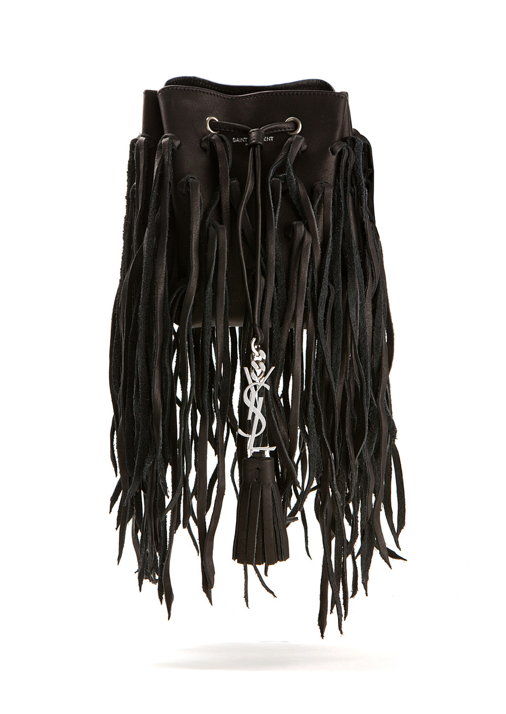 Fringe bucket bag, YSL