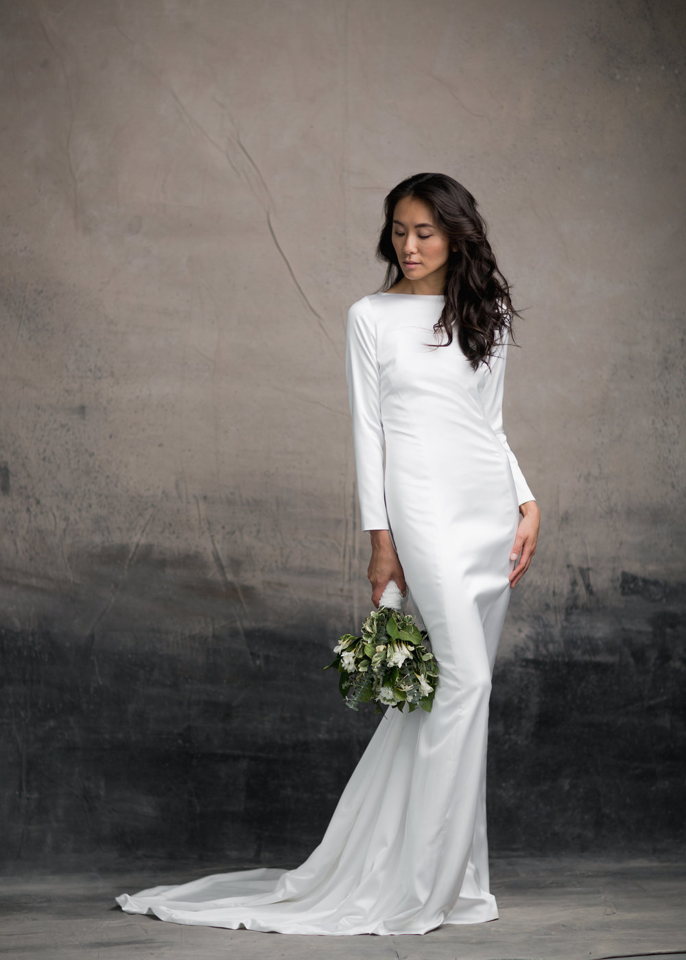 THE MEGHAN ( in satin)