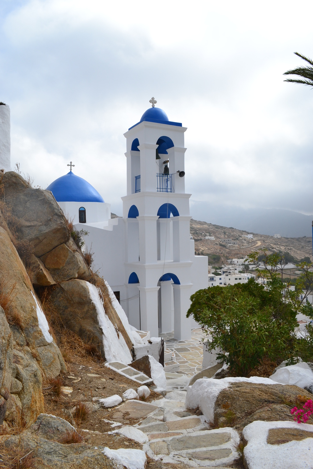 Panagia Gremiotissa - The church of Virgin Mary Gremiotissa is the trademark of the island.