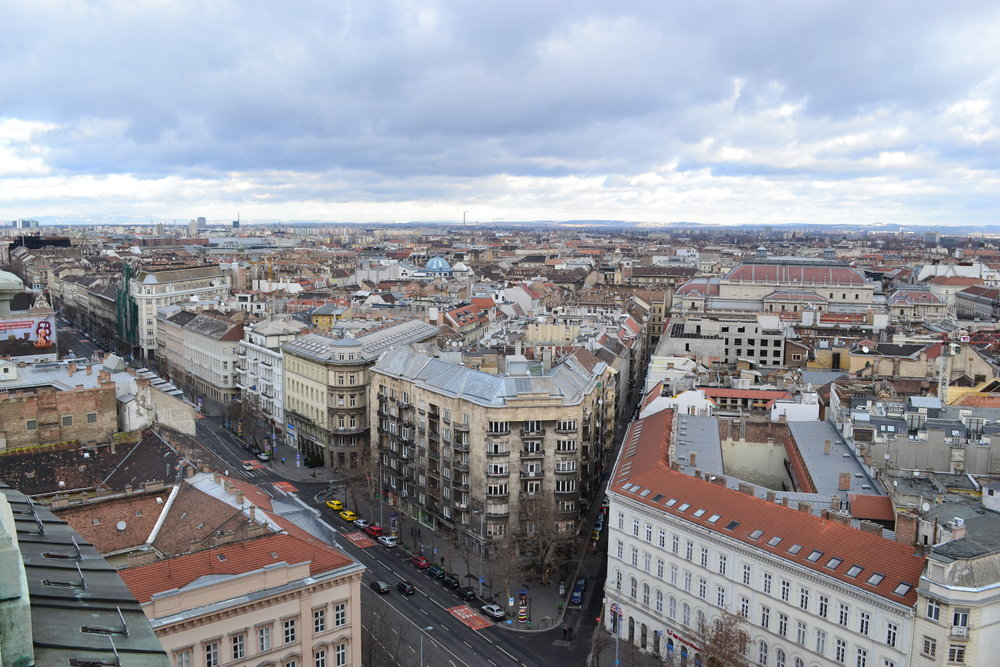 Views from the cupola at St. Stephen's Basilica