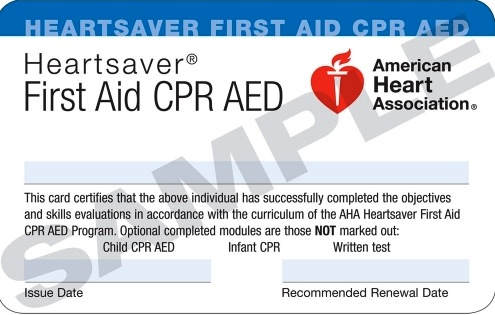 Heartsaver First Aid CPR AED - Online — CPR Crown Services