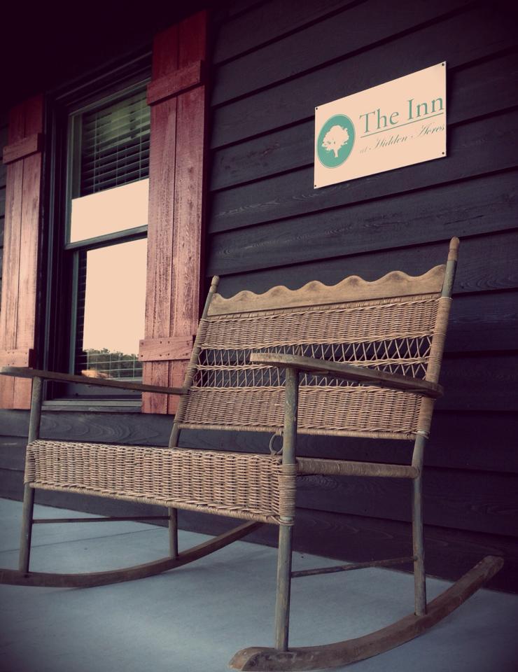 Pocketful of Sunshine Event Design| Full Service Wedding Planning In Columbia, SC | The Inn At Hidden Acres Cabin Double Rocker