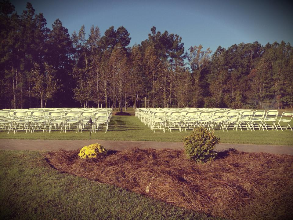 Pocketful of Sunshine Event Design| Full Service Wedding Planning In Columbia, SC | Ceremony For 300 At Hidden Acres Pond