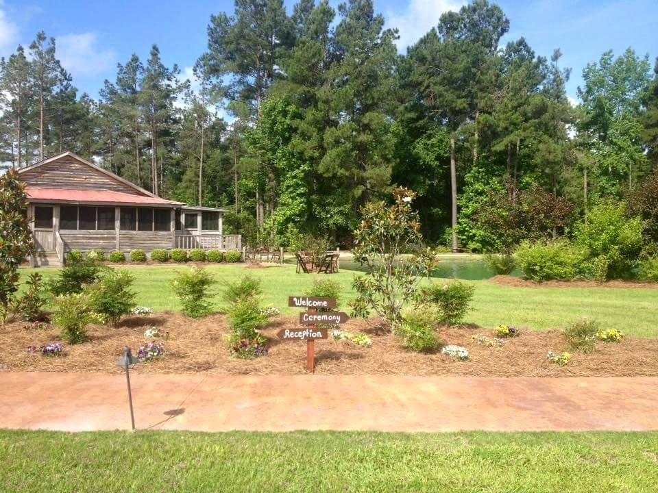 Pocketful of Sunshine Event Design| Full Service Wedding Planning In Columbia, SC | Hidden Acres Bridal Cabin