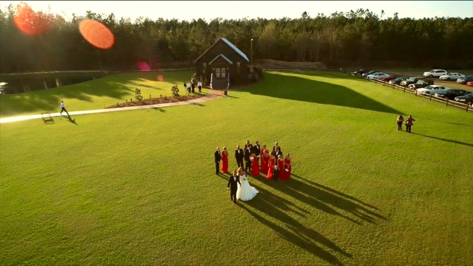 Pocketful of Sunshine Event Design| Full Service Wedding Planning In Columbia, SC | Drone Shot Of Hidden Acres