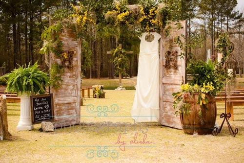 Pocketful of Sunshine Event Design| Full Service Wedding Planning In Columbia, SC | Outdoor Ceremony Space