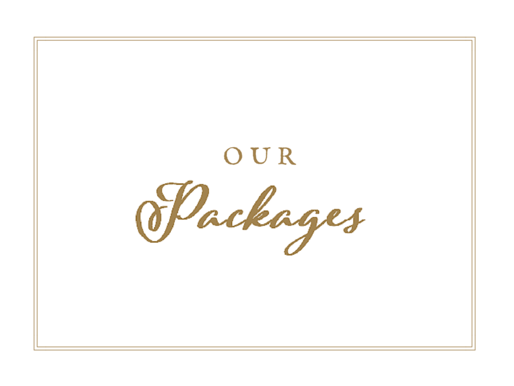 Pocketful of Sunshine Event Design Wedding Packages | Full Service Wedding Planning In Columbia, SC