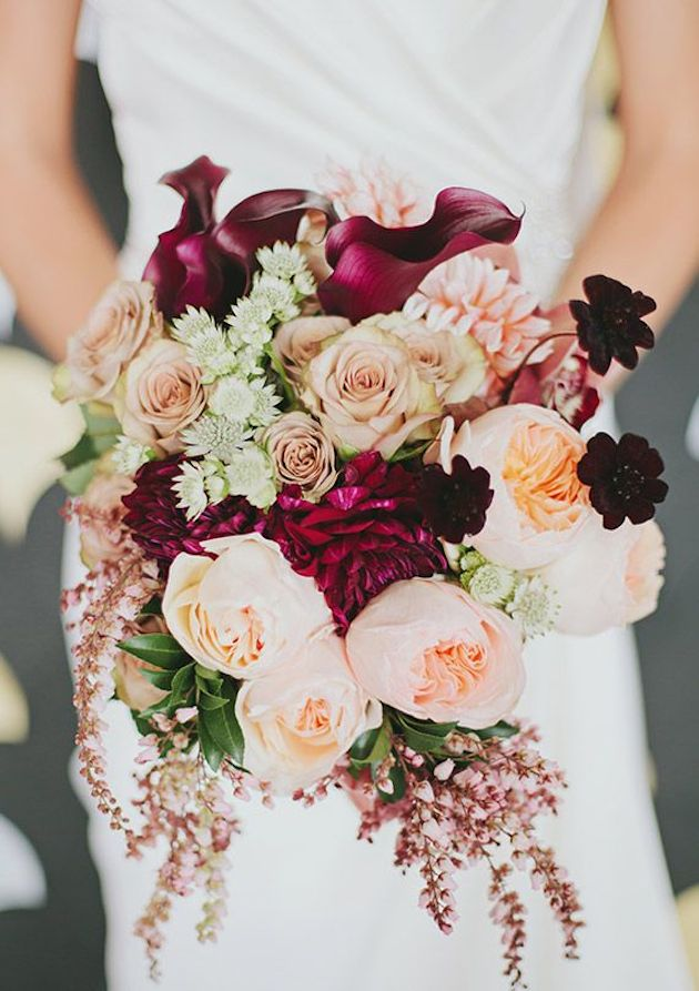 Floral Design by  Kate Foley Designs  |  Lauren Peele Photography  |  100 Layer Cake