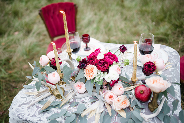Emily Millay Photography  |  Twig Floral  | via  Ruffled