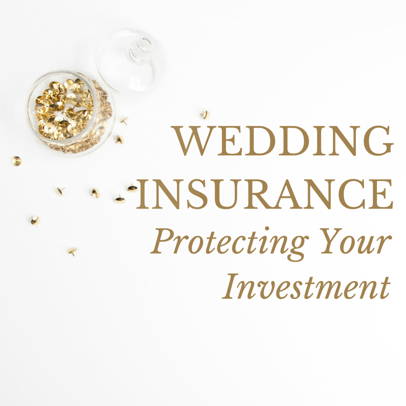 Pocketful Of Sunshine Event Design Blog | Wedding Insurance: Protecting Your Wedding Investment