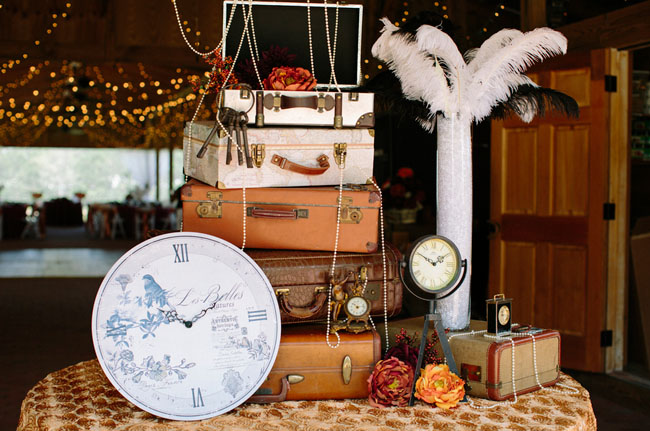 Leslie Hollingsworth Photography | via Green Wedding Shoes | Pocketful of Sunshine Event Design Steampunk Wedding Inspiration