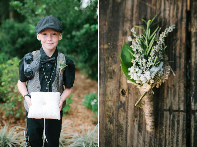 Leslie Hollingsworth Photography | via Green Wedding Shoes | Pocketful of Sunshine Event Design Steampunk Wedding Inspiration Blog