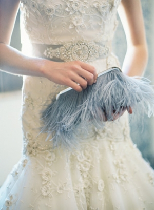 Clary Photography    | via    Elizabeth Anne Designs  |    Pocketful of Sunshine Event Design Inspiration: Dusty Blue & Cranberry