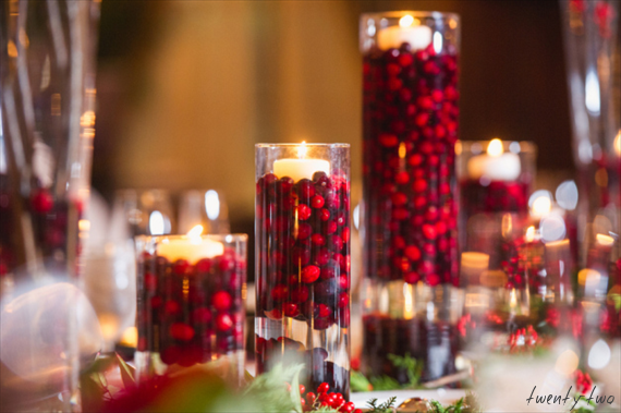 Joe Hendricks Photography    | via    Emmaline Bride  |    Pocketful of Sunshine Event Design Inspiration: Dusty Blue & Cranberry
