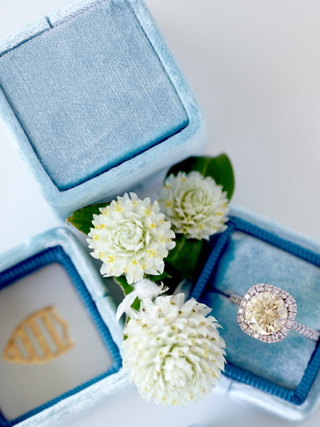 The Cardiff by The MRS Box    | Pocketful of Sunshine Event Design Inspiration : Dusty Blue & Cranberry