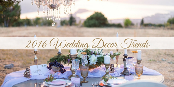 Pocketfulof Sunshine Event Design | Full-Service Wedding Planning | Columbia, SC | 2016 Wedding Decor Trends