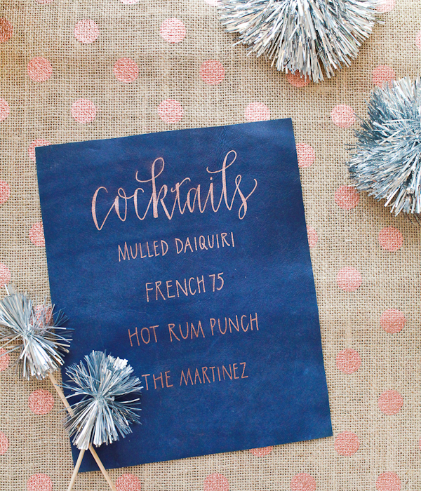 Meant To Be Calligraphy| Noel Garey for Oh So Beautiful Paper | Pocketful of Sunshine Event Design | Full-Service Wedding Planning | Columbia, SC | 2016 Wedding Decor Trends