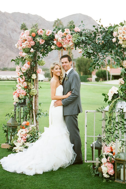Christianne Taylor Weddings via Brides | Pocketful of Sunshine Event Design | Full-Service Wedding Planning | Columbia, SC | 2016 Wedding Decor Trends