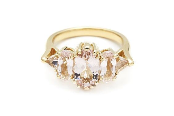 """Theda"" Ring by Anna Sheffield    