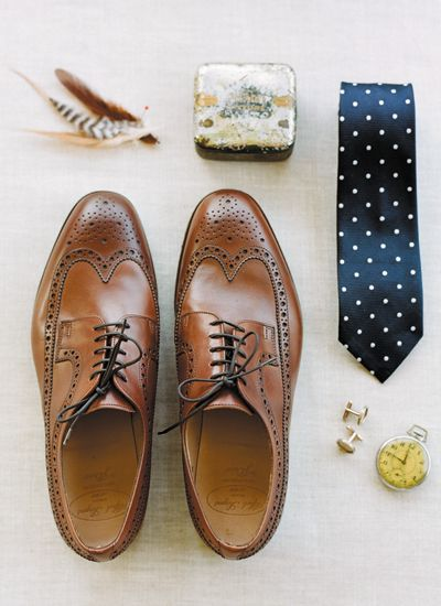 Billy Reid Men's Accessories    |  via    Southern Weddings    |  Pocketful of Sunshine Event Design Blog: Winter Wedding Trends