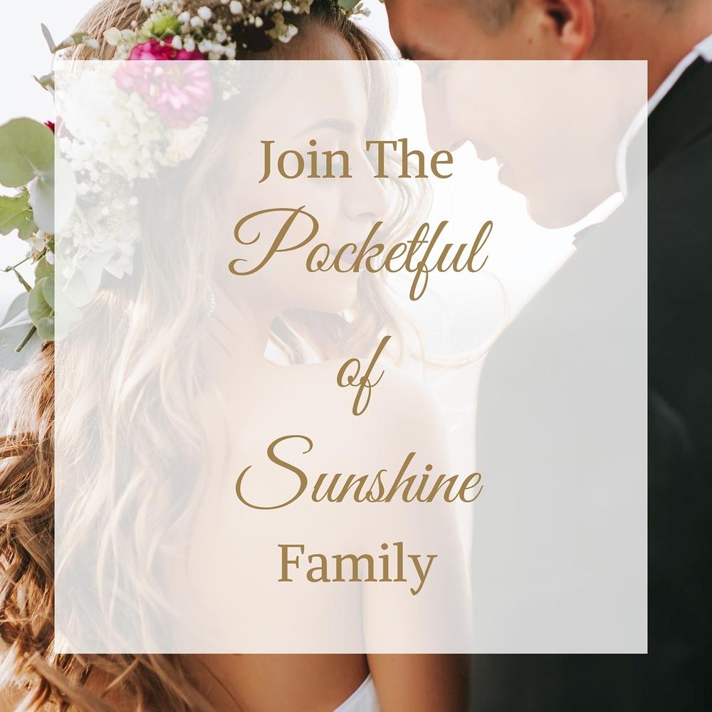 Pocketful of Sunshine Event Design | Full-Service Wedding Planning | Columbia, SC | Join The Pocketful of Sunshine Family