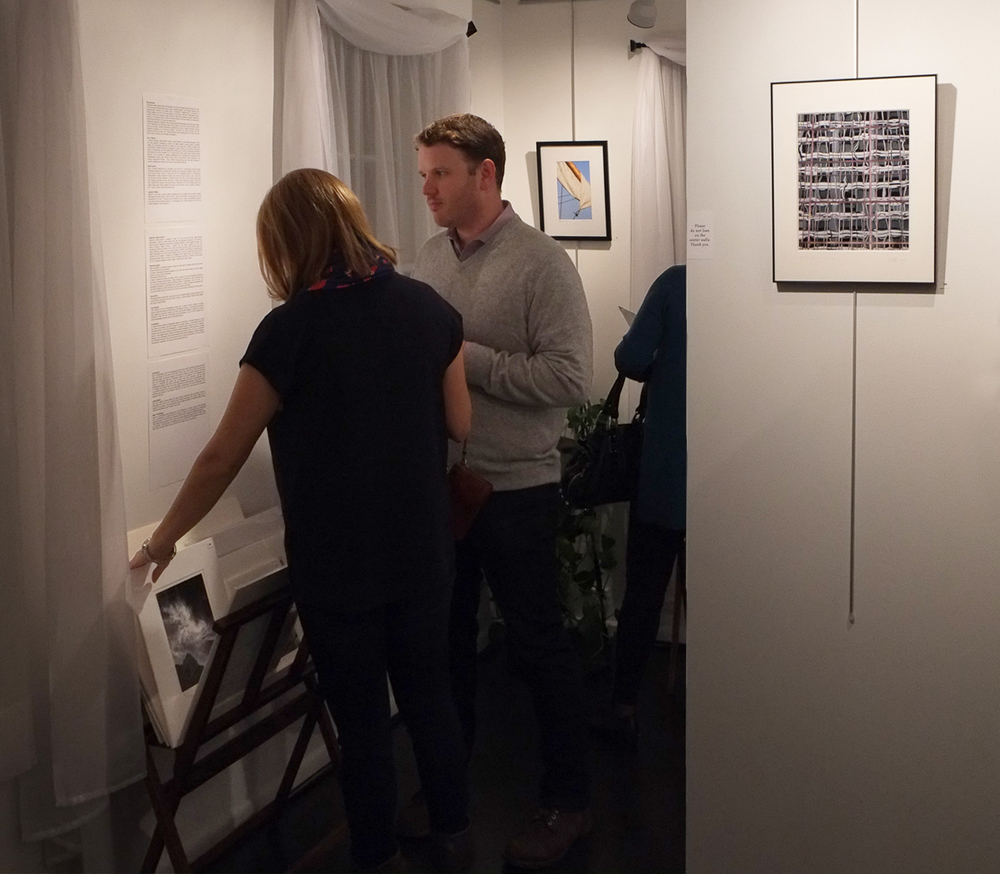 Alison and Aaron at the Collectors Preview