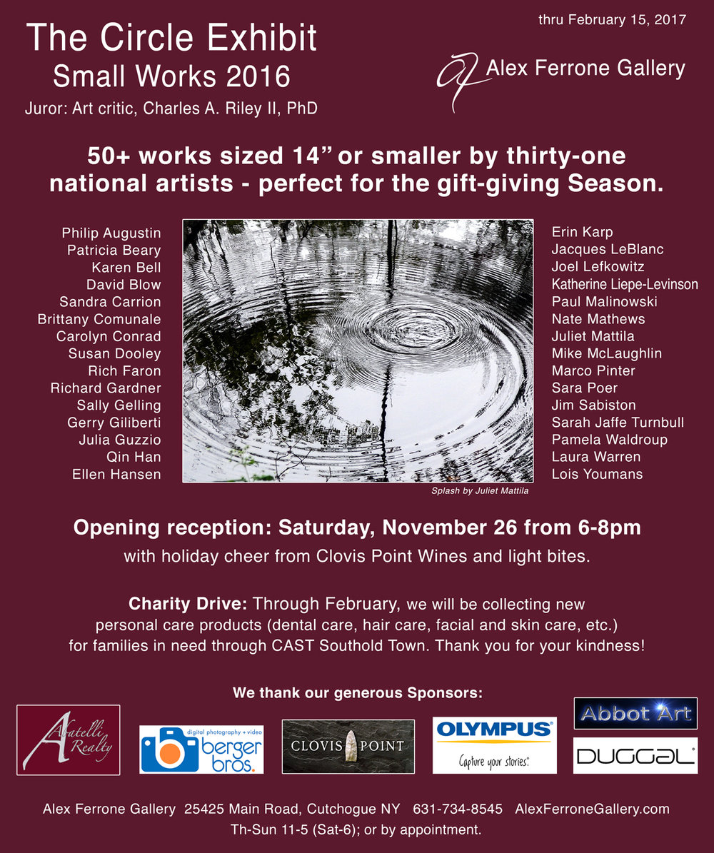 Small Works Juried Exhibit logo.jpg
