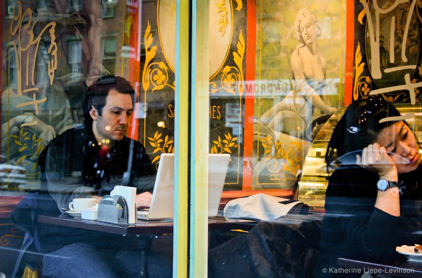 Café by Katherine Liepe-Levinson